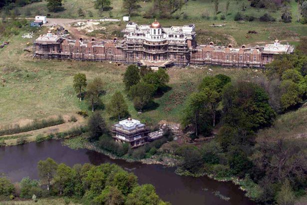 Eerie abandoned £40million mansion in Kent that's bigger than Buckingham Palace