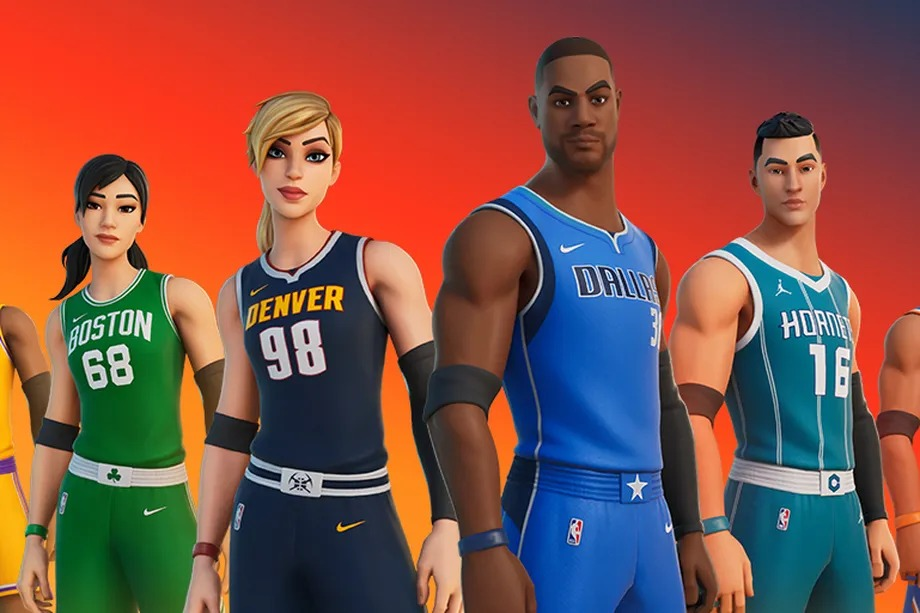 Official NBA jerseys are coming to Fortnite this week